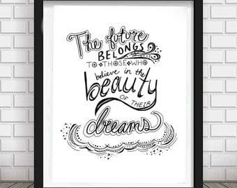 Beauty of Dreams PDF/JPG - Digital - Download - Printable