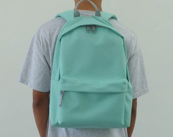 Minimalist Backpack Mint Green