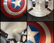 """1:1 scale 24"""" aluminum alloy shield replica prop"""