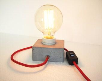 Concrete lamp block Q
