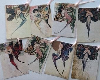 8 Nouveau Butterfly Fairies