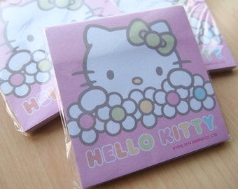 Beautiful Hello Kitty Sticky Note Pad for Planning, Journalling and Scrapbooking!