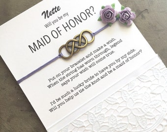 Gift Ideas For Bride And Groom From Maid Of Honor : maid of honor proposal asking maid of honor ask maid of honor ideas ...