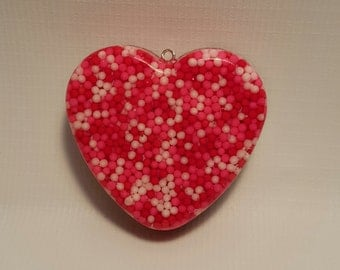 Valentine Candy Heart Pendant