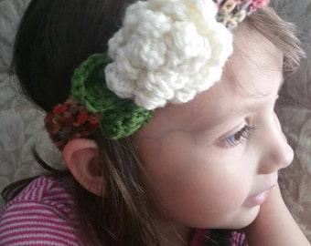 Mossy Meadows Flower Headbands - SUPER STRETCHY