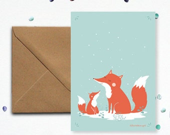 "Map ""Fox"" - kraft envelope"