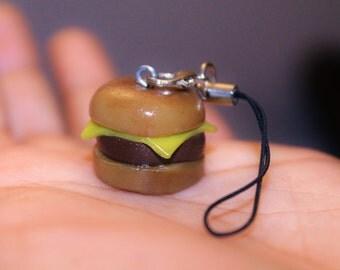 Cheeseburger Polymer Strap