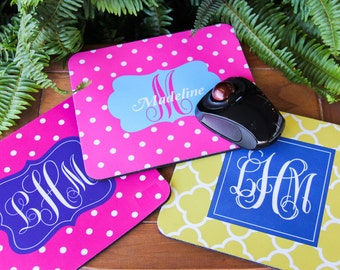 Personalized Mouse Pad - College, Work, School, Office, Gift