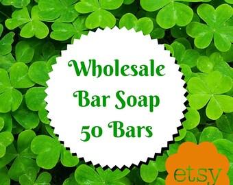 Wholesale Bar Soap, 50 bars of soap, wholesale soap, wholesale vegan soap, wholesale natural soap, wholesale organic soap, Vegan Bar Soap