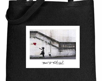 Banksy - Tote Bag - Girl With Balloon