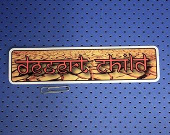Desert Child Bumper Sticker