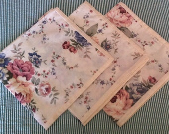Floral Table Napkins