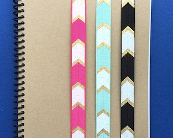 Journal Band, elastic band for use with planners, organizers, books, Bibles, diaries, notebooks