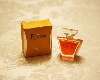 Poeme Perfume, Lancome Poeme Perfume, Miniature Perfumes, Fragrances, Perfume Minis, Collectible Perfumes, Lancome Perfumes, Vintage Perfume