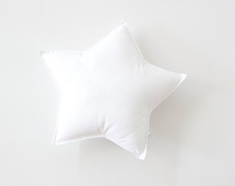 Standard Star Cushion, Nursery Cushion, Bedroom Cushion, Kids Room Cushion, Pillow, Nursery Pillow