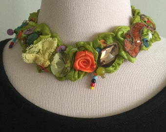 Exquisite Handmade One of a Kind Necklace