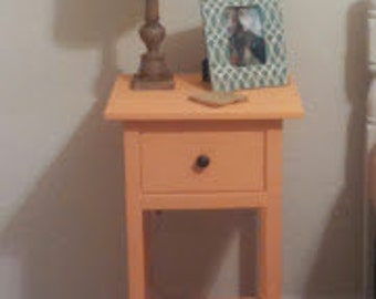 One Drawer Bedroom Nightstand