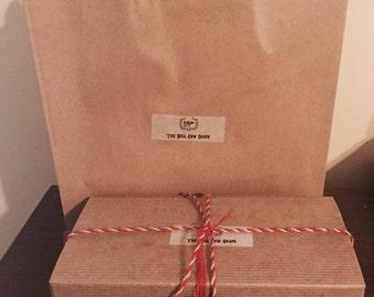 All-Natural Soaps and Lip Balms Gift Box