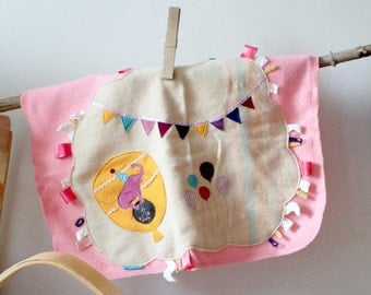 eco-friendly wool play mat,circus,elephant,bunting,balloons,discovery rug,baby nursery,wall art,children's room decor