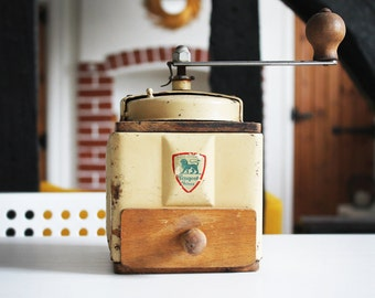 Cream Peugeot Freres Coffee Grinder