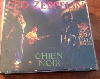 "Rare Led Zeppelin 4 cd set ""Chien Noir"" Brussels 6-20-80 and Bremen 6-23-80 Antrabata"