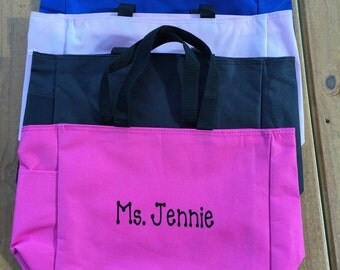 Personalized Tote Bag- Teacher Gift