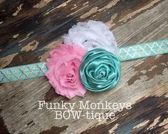 Mint inspired headband!