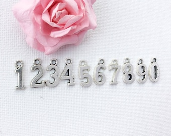 Add-on Number charm to add onto existing orders only!
