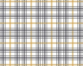 When Skies Are Grey White Plaid By Riley Blake Designs