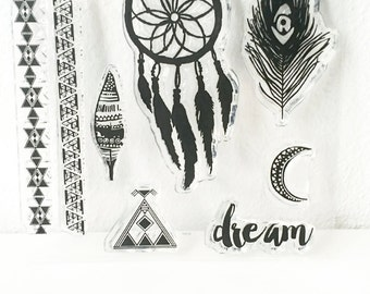 Clear stamps _ dream _