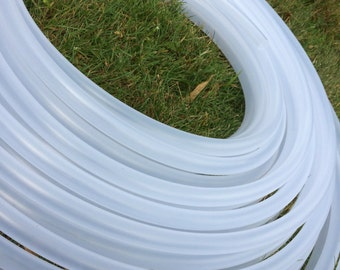 Natural Clear 5/8 Polypro Tubing