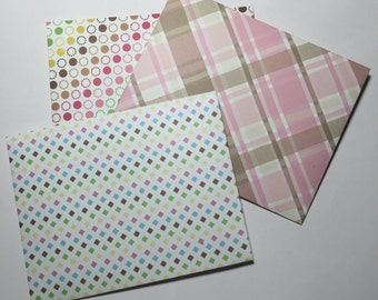 3 A2 Handmade Envelopes