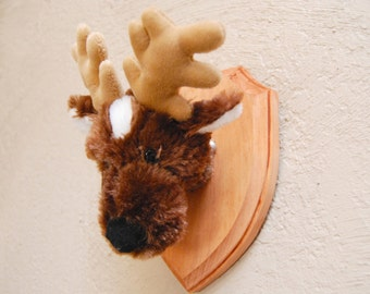 Faux Taxidermy Stuffed Deer