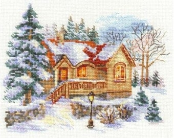 Cross Stitch Kit by Alisa - February House