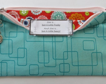 Persette #166 Personalized Zippered Organizing Pouch