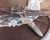 Vintage Garden Club Rose Pruning Shears Gardening Scissors Cottage Garden Snips Freemont Made in USA
