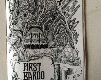 First Bardo by Nicholas Burrus (art zine)