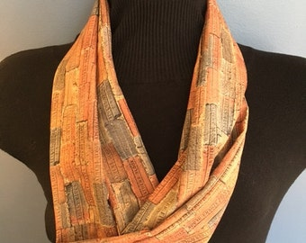 Athens Block Infinity Scarf