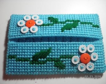Buttons Pocket Tissue Cover