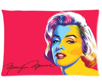 Marilyn Monroe Pink Arts pillow case covers
