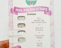 Shattered Glass Nail Polish Wraps
