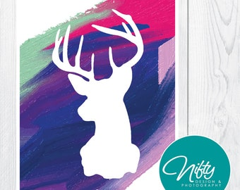 Coloured Deer