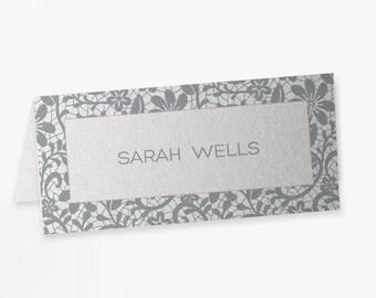 Vintage Lace Wedding Place Cards