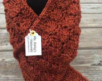 Chroched scarf, neck warmer, handmade gifts