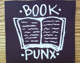 Book Punx patch
