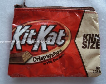 Kit Kat zippered pouch