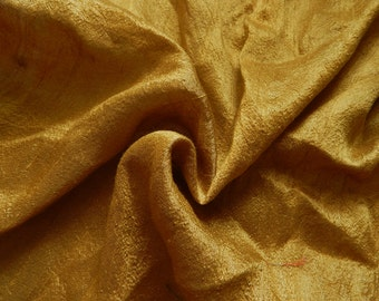 Pure Silk Fabric, Pure Dupioni Silk Fabric, Silk Fabric, Indian Silk Fabric, Gold Silk Fabric