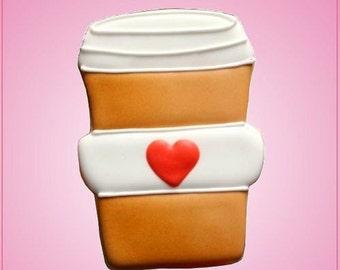 Latte Coffee Cookie Cutter