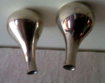 Dansk Silver Tipping vases