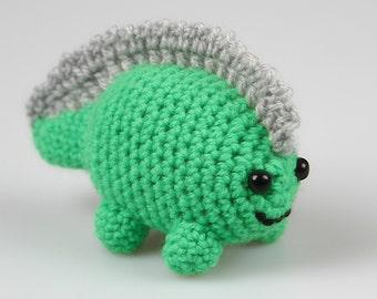 Crochet tiny dinosaur Pattern, Amigurumi dinosaur, Crochet Pattern, Crochet dinosaur, Amigurumi Animal, Amigurumi Toy P046